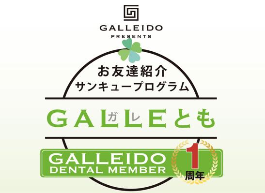 GALLEIDO紹介キャンペーン